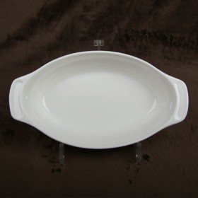 Luzerne Oval Plate With Handle 24cm 1P