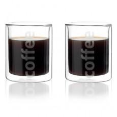 Viva Double Walled Coffee Glass 2P세트 (이중컵)