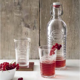 OFFICINA 1825 Bottle + Glass Cup 6P