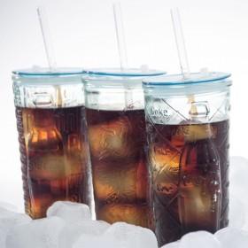San Miguel Coca-Cola 드링크자(with Straw) 500cc 1P