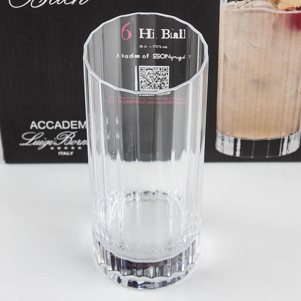 Luigi Bach 크리스탈 Hi-Ball 360ml 6P세트