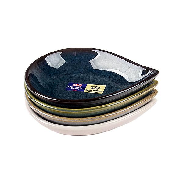 Royal Venton 헤스티아 물방울접시(소) 4P세트