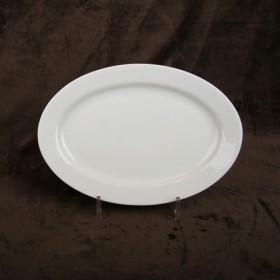 Luzerne Oval Rim Plate 31cm 1P