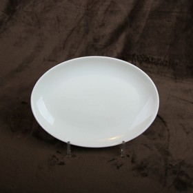 Luzerne Oval Coupe Plate 24.5cm 1P