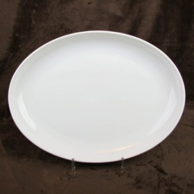 Luzerne Oval Coupe Plate 38cm 1P