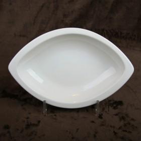 Luzerne Boat Shape Plate 24.5cm 1P