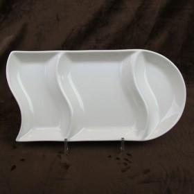 Luzerne Twist Rectangle Platter 31cm 1P
