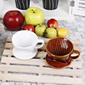 Domo Ceramic Coffee Dripper(1~2 cup)
