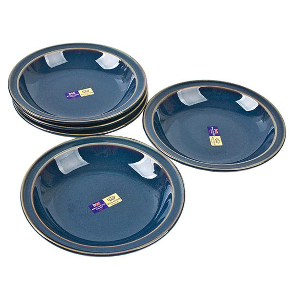 Royal Venton 빈티지 블루 구프 7인치 5P세트