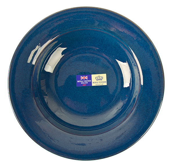 Royal Venton 빈티지 블루 샐러드볼 9인치 1P