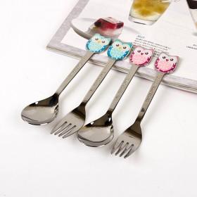 Owl Fork n Spoon (부엉이 포크,스푼) 1P